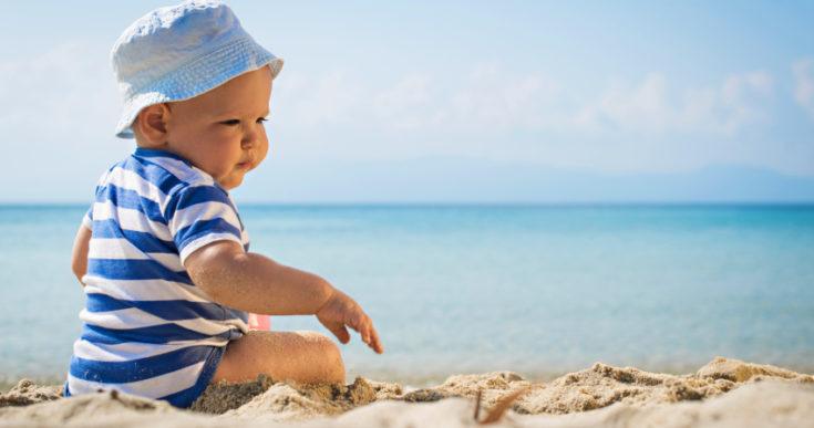 Ne izlažite suncu dijete prerano!